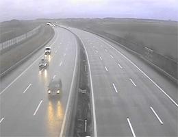A01 West Autobahn: Bei Anschlussstelle Loosdorf, Blickrichtung Linz – Km 67,35 webcam Live