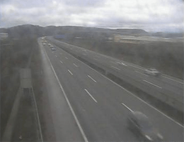 A01 West Autobahn: Bei Anschlusstelle Melk, Blickrichtung St. Pölten – Km 81,00 webcam Live