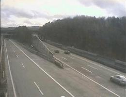 A01 West Autobahn: Bei Knoten Steinhäusl, Blickrichtung Wien – Km 31,08 webcam Live