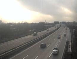 A1 Hemelingen Weserbrücke in Fahrtrichtung Hamburg webcam Live