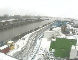 Brunsbüttel, Schleuse webcam Live
