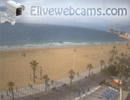 Costa Blanca – Benidorm LevanteStrand webcam Live