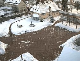 Freudenstadt – Oberer Marktplatz webcam Live