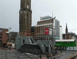 Groningen – Grote Markt , Martinitoren , Waagstraat webcam Live