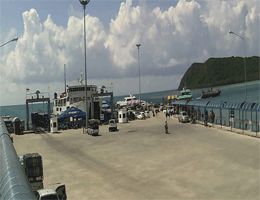 Harbor Ko Pha-ngan webcam Live
