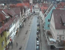 Künzelsau – Hauptstraße webcam Live