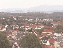 Offenburg – Blick auf Süden und Norden webcam Live