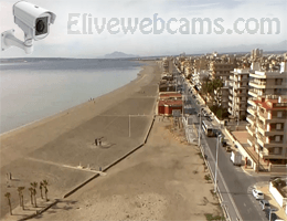 Santa Pola – Gran Playa webcam Live