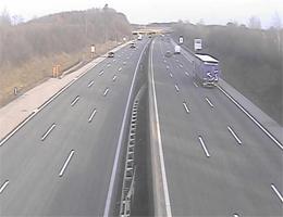 A01 West Autobahn: Bei Anschlussstelle Oed, Blickrichtung St. Pölten – Km 132,10 webcam Live