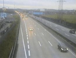 A01 West Autobahn: Bei Anschlusstelle Asten-St.Florian, Blickrichtung Wien – Km 161,07 webcam Live