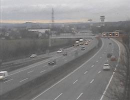 A01 West Autobahn: Bei Knoten Haid, Blickrichtung Wien – Km 175,21 webcam Live