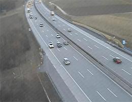 A01 West Autobahn: Zwischen Anschlussstelle Sattledt und Anschlussstelle Allhaming, Blickrichtung Salzburg – Km 189,44 webcam Live