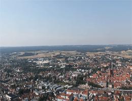Amberg (Oberpfalz) – Blick auf Amberg von Mariahilfberg webcam Live