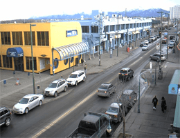 Anchorage – 4th Avenue & D Straße (Blick nach Nordost) webcam Live