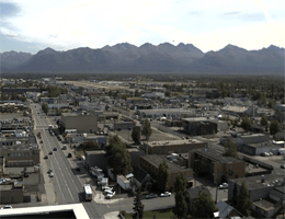 Anchorage: Downtown Ost – Skyline webcam Live