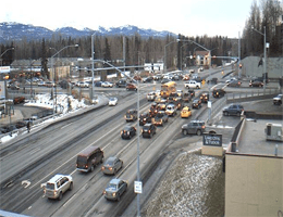 Anchorage – Lake Otis & Tudor (Blick nach Süd) webcam Live