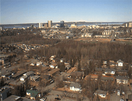 Anchorage: Midtown – Blick nach Nordwest webcam Live