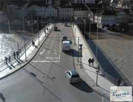 Bad Tölz – Isarbrücke webcam Live