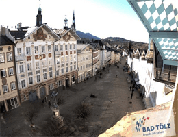 Bad Tölz – Marktstraße Webcam Live
