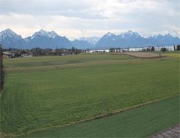 Chieming-Egerer – Blick nach Süden in Richtung Alpen webcam Live