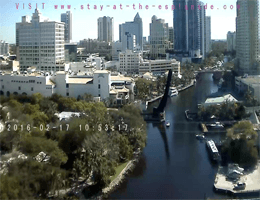 Fort Lauderdale – New River in Downtown webcam Live