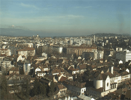 Genf (Geneva) – Skyline webcam Live