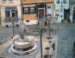 Gerolzhofen – Marktplatzbrunnen webcam Live