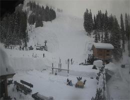 La Fouly – Terrasse und Glacier Skipiste webcam Live