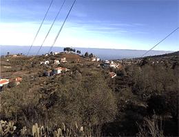 La Palma – Blick auf Puntagorda webcam Live