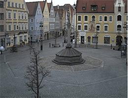 Mindelheim – Marienplatz Webcam Live