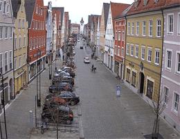 Mindelheim – Maximilianstraße Webcam Live