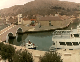 Pag – Katine Brücke webcam Live
