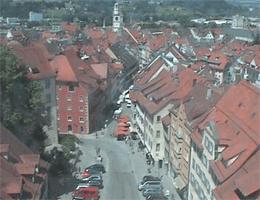 Ravensburg – Historische Marktstraße webcam Live