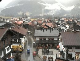 Reit im Winkl: Rathausplatz – Dorfplatz webcam Live