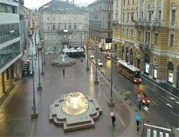 Rijeka – Jadranski Platz webcam Live