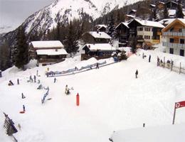 Skigebiet Rosswald – Kidspark Spielplatz webcam Live