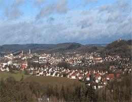 Sulzbach-Rosenberg – Blick vom Schlackenberg (Richtung Nordwest und Nordost) webcam Live