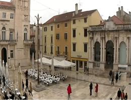 Zadar – Narodni trg (Volksplatz) webcam Live