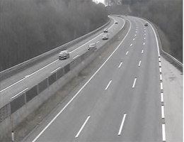 A01 West Autobahn: Bei Anschlussstelle Seewalchen, Blickrichtung Wien – Km 238,60 webcam Live
