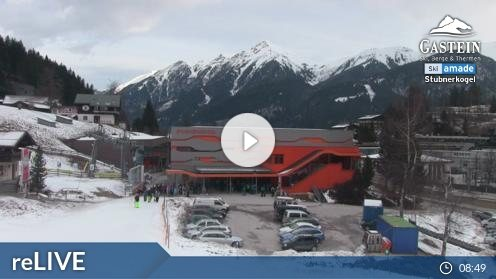 Bad Gastein – Stubnerkogel Talstation webcam Live