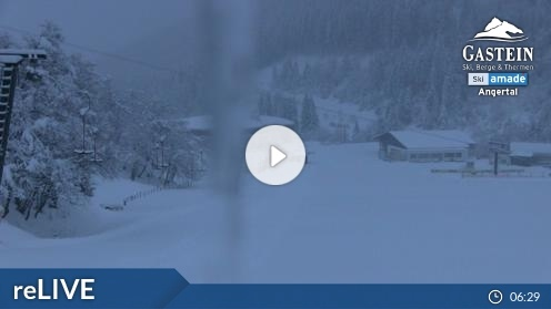 Bad Hofgastein – Skizentrum Angertal webcam Live