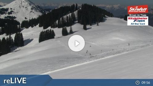 Brixen im Thale – Jochbahn Bergstation webcam Live
