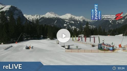Ehrwald – Ehrwalder Alm webcam Live