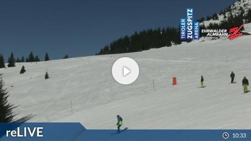 Ehrwald – Feldernalm webcam Live