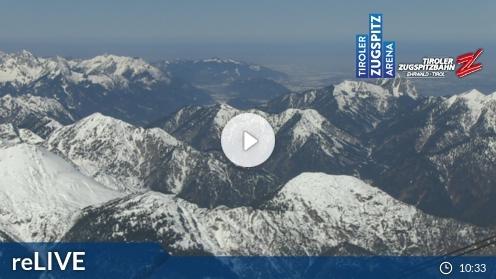 Ehrwald – Tiroler Zugspitzbahn Bergstation webcam Live