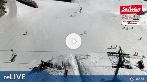 Ellmau – Bergstation Hartkaiserbahn webcam Live