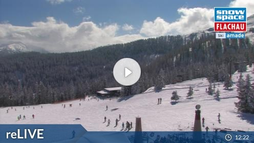 Flachau – Bergstation achterjet webcam Live