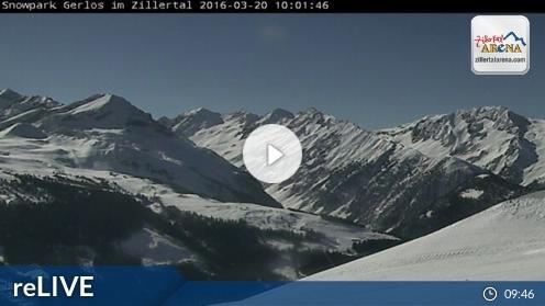 Gerlos – Snowpark Gerlos webcam Live