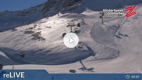 Hintertux – Tuxer Ferner Haus webcam Live