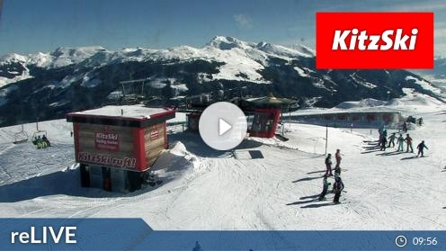Hollersbach im Pinzgau – Bergstation Panoramabahn webcam Live